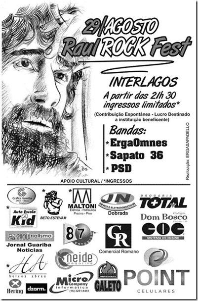 cartaz raul rock fest